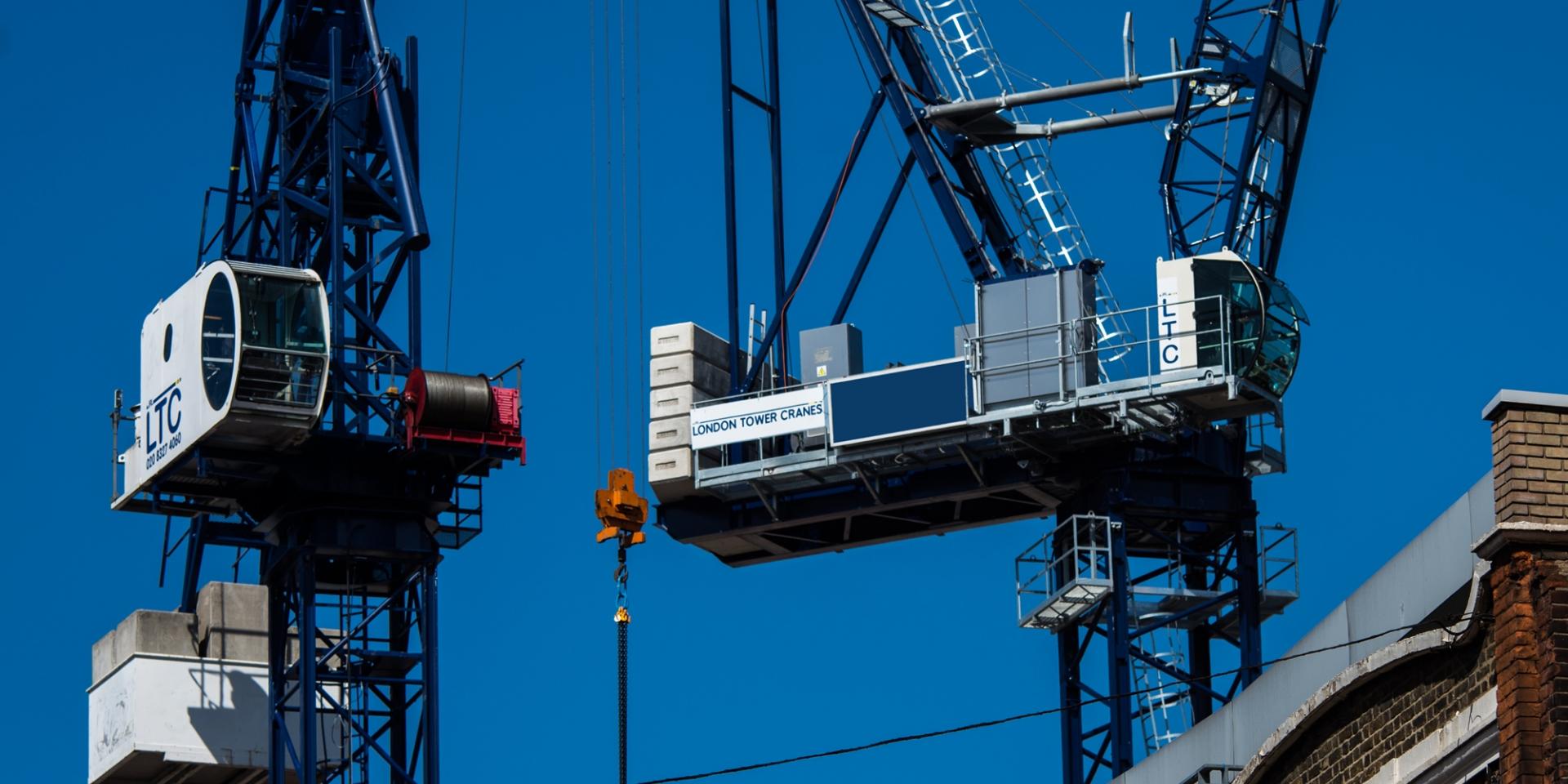 Tower Crane New Technology : Tower crane hire sales london cranes