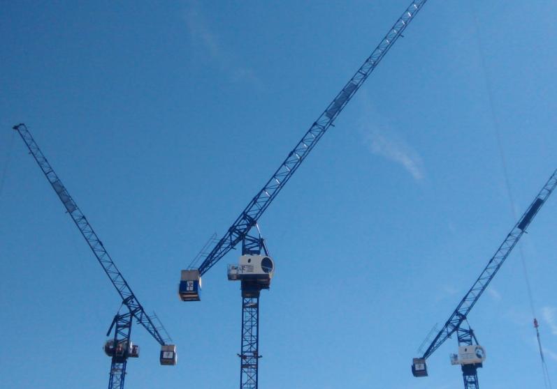 Tower crane kings way : Geron way projects london tower cranes